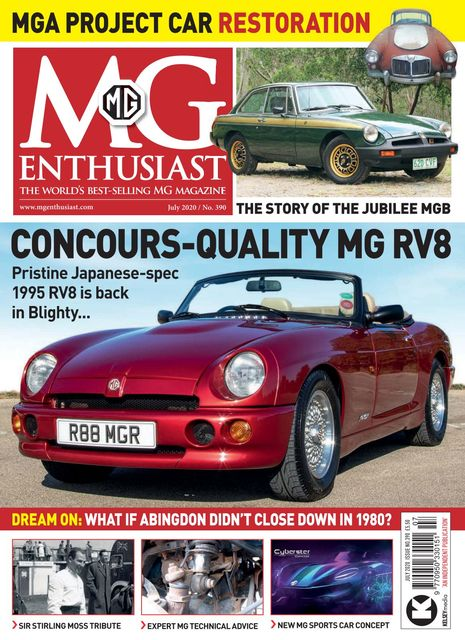 MG Enthusiast issue 07/2020