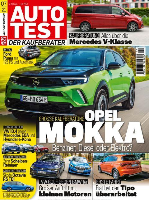 AUTO TEST Ausgabe 07/2021