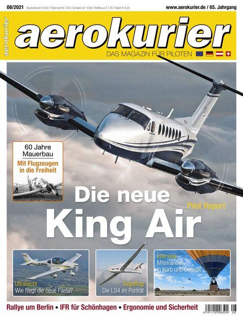 Aerokurier Ausgabe 08/2021