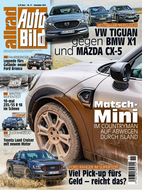 AUTO BILD Allrad Ausgabe 11/2021