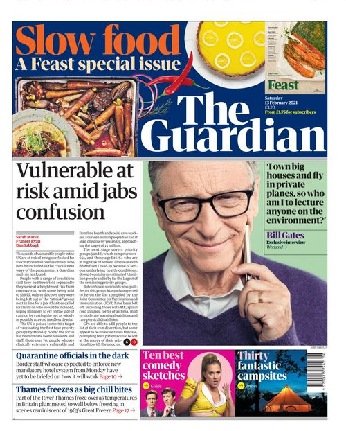The Guardian 2021-02-13
