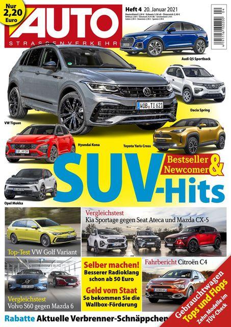 Auto Straßenverkehr 2021-01-19