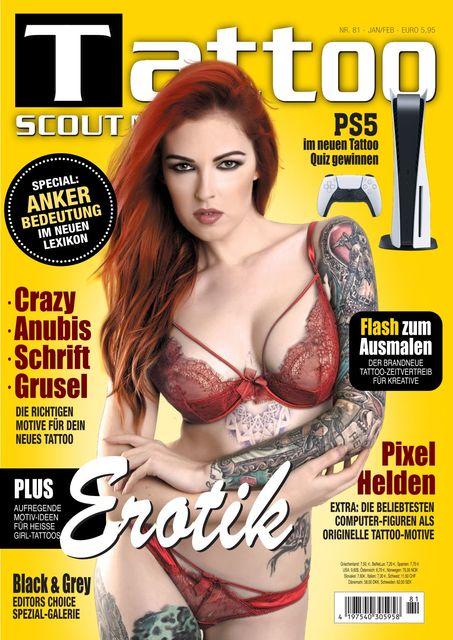 Tattoo Scout Ausgabe Nr. 81