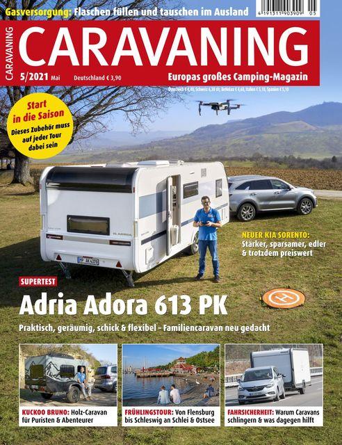 Caravaning Ausgabe 05/2021