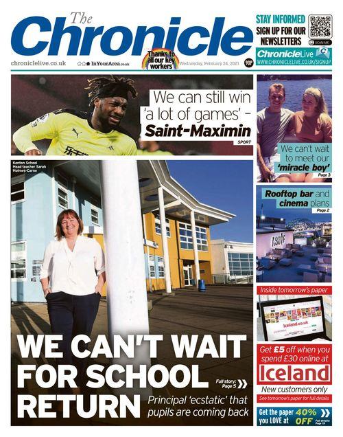 Newcastle Chronicle 2021-02-24