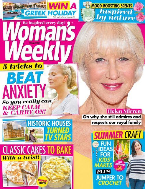Woman's Weekly Magazine UK 2021-08-04