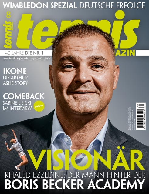 tennis MAGAZIN Ausgabe 08/2020