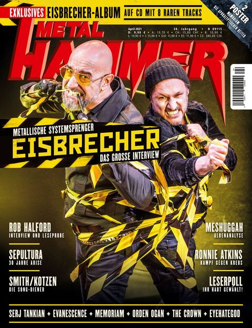 METAL HAMMER Deutschland Ausgabe 04/2021