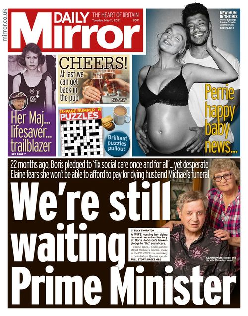 Daily Mirror 2021-05-11
