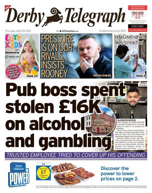 Derby Telegraph 2021-04-29