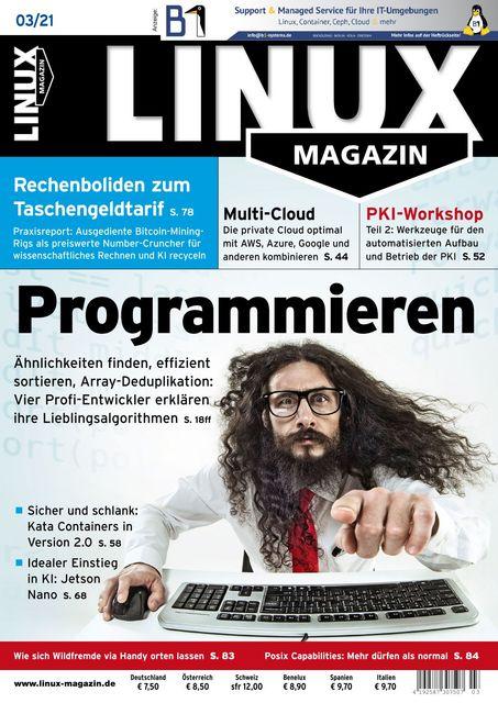 Linux Magazin Ausgabe 03/2021