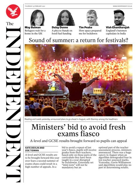 The Independent 2021-02-25