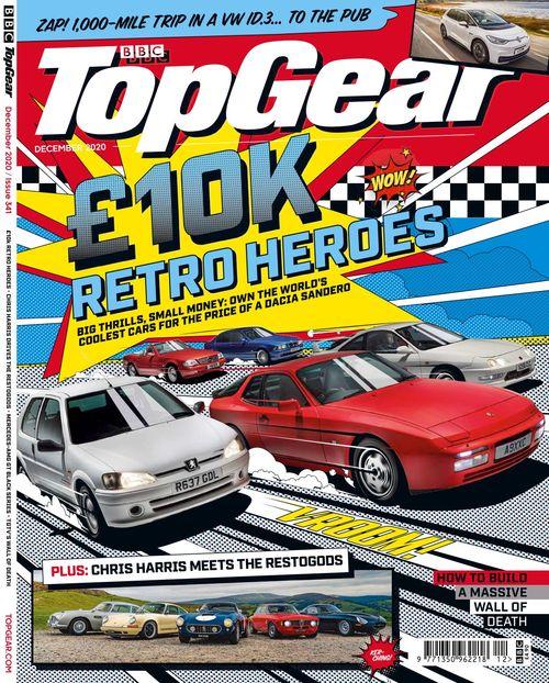 BBC Top Gear Magazine issue 12/2020