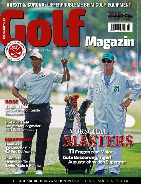 Golf Journal Ausgabe 04/2021