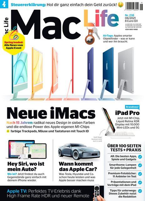 Mac Life Ausgabe 06/2021