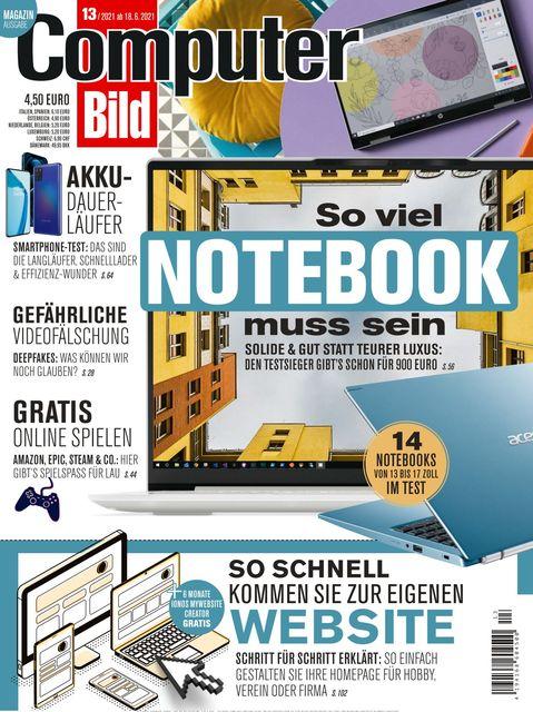 COMPUTER BILD Ausgabe 13/2021