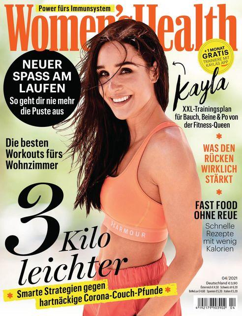 WOMEN'S HEALTH Ausgabe 04/2021