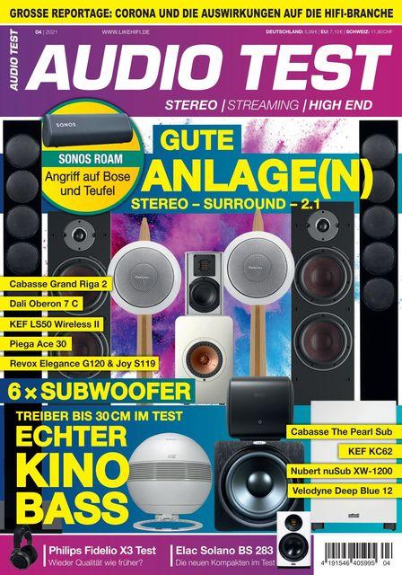AUDIO TEST Magazin Ausgabe 04/2021