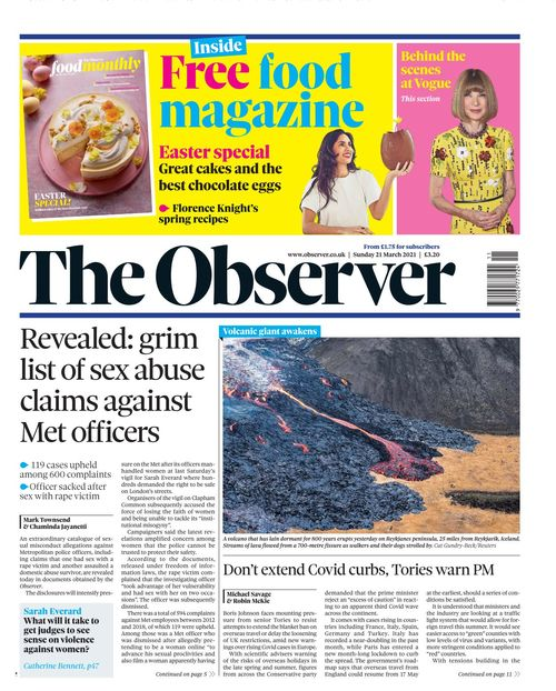 The Observer 2021-03-21