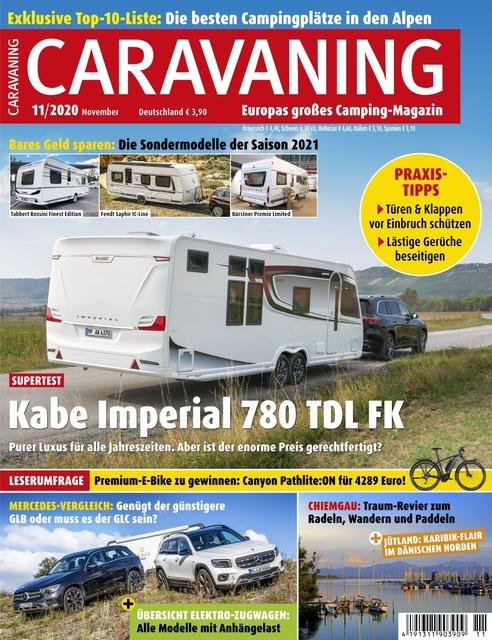 Caravaning Ausgabe 11/2020
