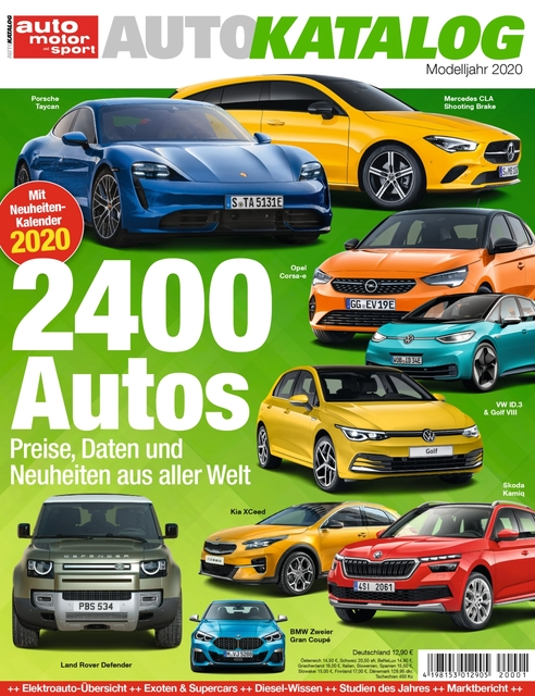 Auto Motor und Sport AUTOKATALOG Ausgabe 2020