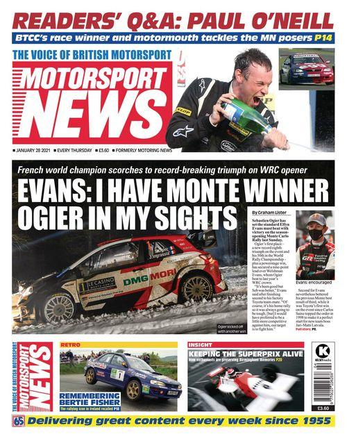 Motorsport News 2021-01-28