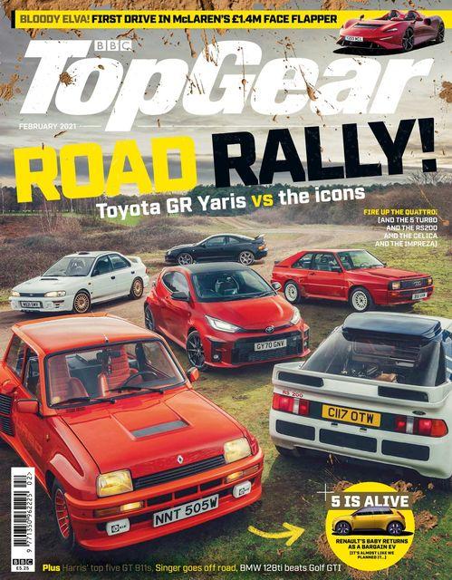 BBC Top Gear Magazine issue 02/2021