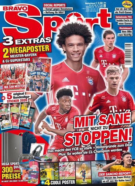 Bravo Sport Ausgabe 8/2020