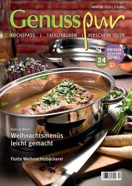 GENUSS PUR Ausgabe 04/2020
