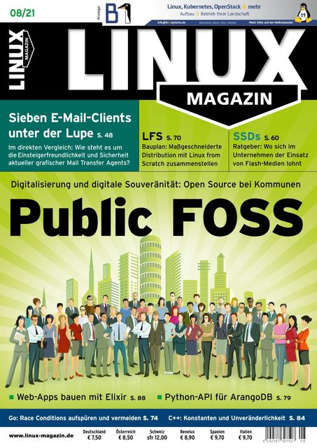 Linux Magazin 2021-07-08