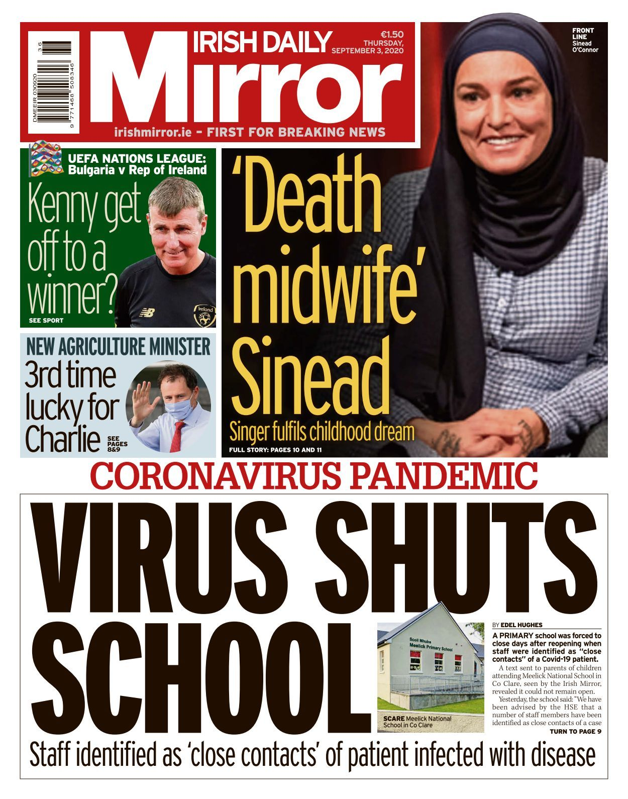 Irish Daily Mirror   10 10 10