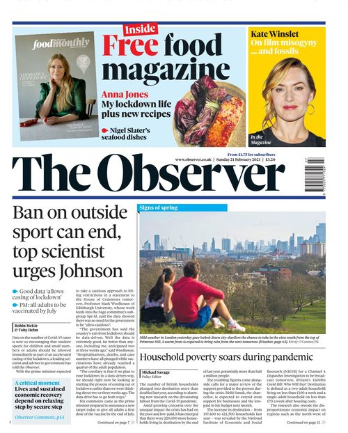 The Observer 2021-02-21