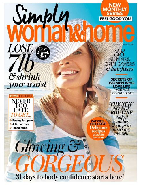 Woman & Home Feel Good You Magazine issue 08/2021