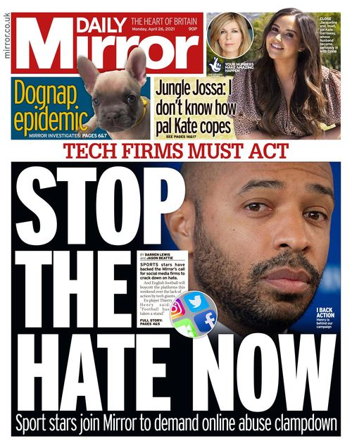 Daily Mirror 2021-04-26