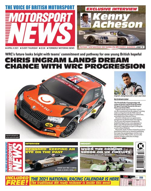 Motorsport News 8 April 2021