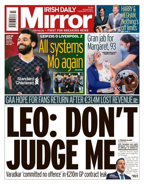 Irish Daily Mirror 2021-02-17