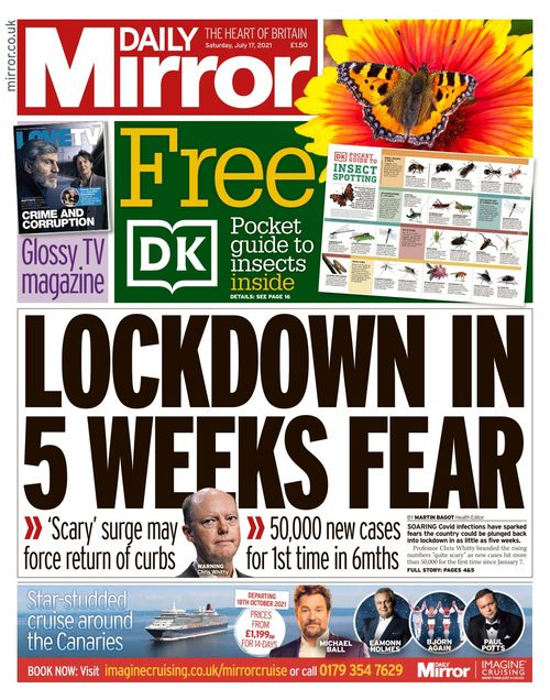 Daily Mirror 2021-07-17