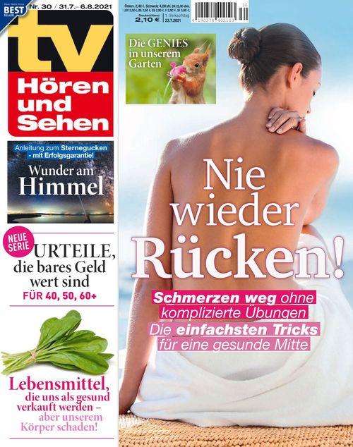 TV Hören und Sehen Ausgabe 30/2021