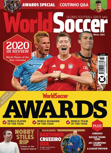 World Soccer issue Winter 2020