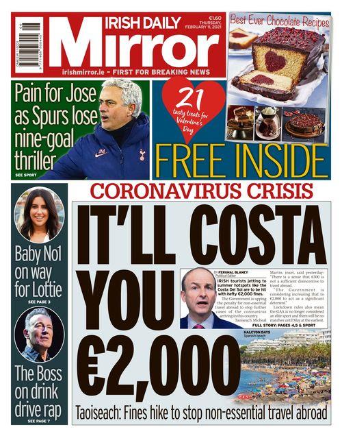 Irish Daily Mirror 2021-02-11