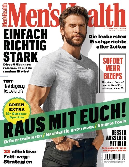 MEN'S HEALTH Ausgabe 09/2020