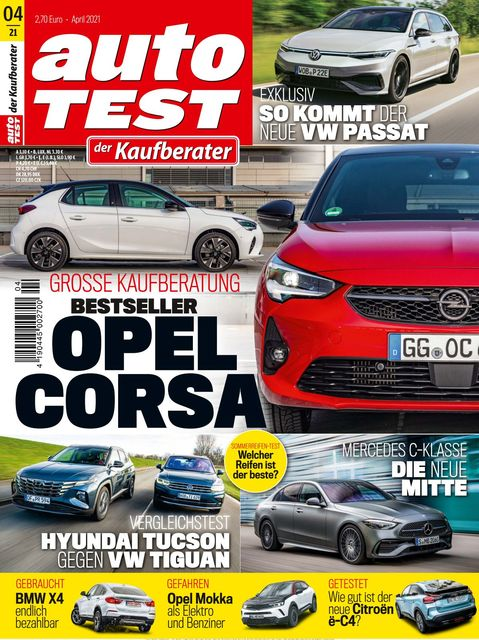 AUTO TEST Ausgabe 04/2021
