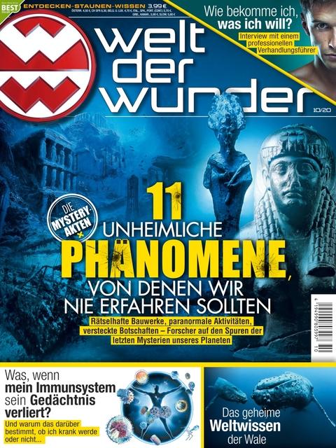 Welt der Wunder Ausgabe 10/2020