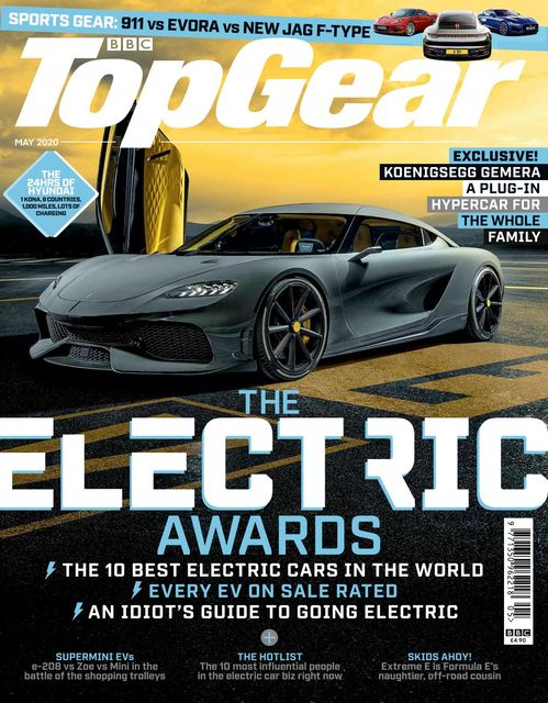 BBC Top Gear Magazine issue 05/2020