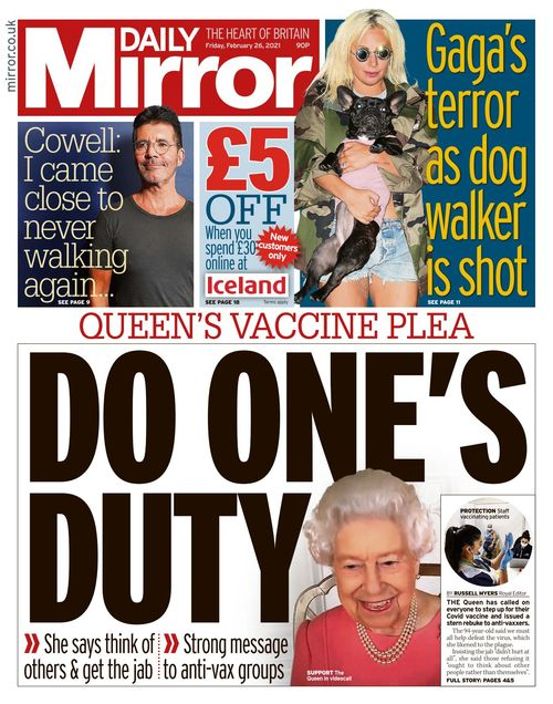 Daily Mirror 2021-02-26