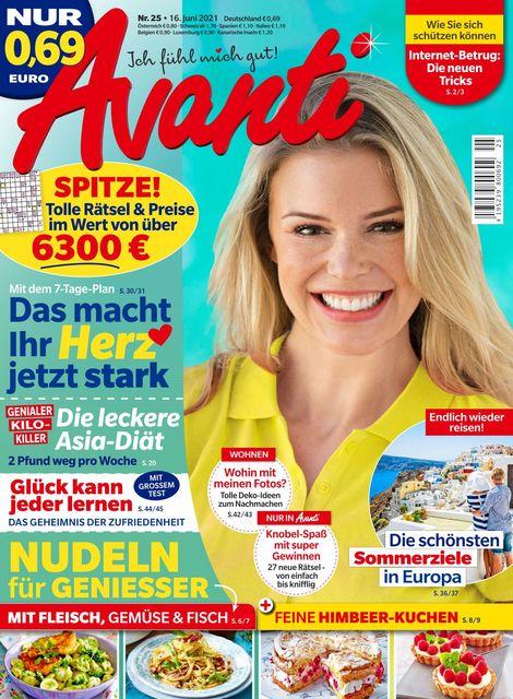 Avanti Ausgabe 25/2021