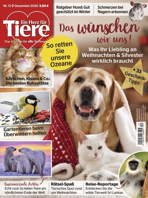 Ein Herz für Tiere Ausgabe 12/2020