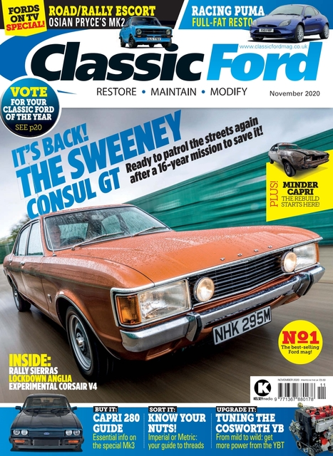 Classic Ford issue 11/2020