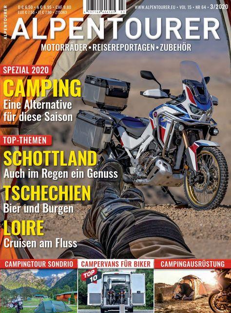 ALPENTOURER – Europas Motorrad-Tourenmagazin Ausgabe 03/2020
