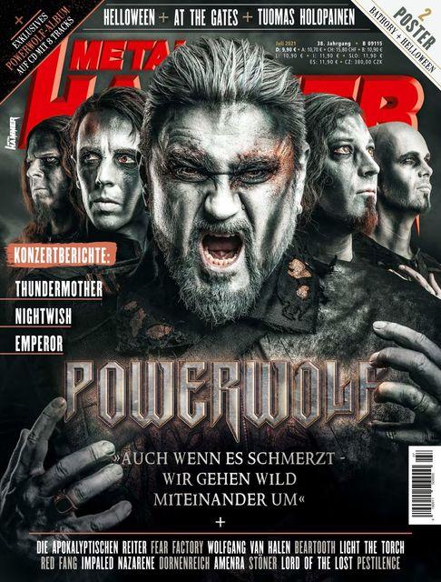 METAL HAMMER Deutschland Ausgabe 07/2021
